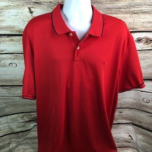 Izod 3XL Mens Polo Golf Red Shirt Short sleeve J5